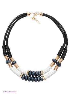 Колье Lovely Jewelry. Цвет: черный, белый
