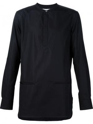 Рубашка-поло Public School. Цвет: чёрный