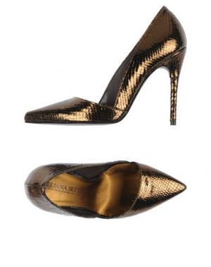 Туфли ELIANA BUCCI. Цвет: бронзовый