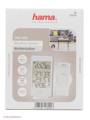 Погодная станция Hama EWS-860 белый. Цвет: кремовый, белый