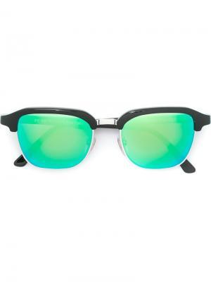 Солнцезащитные очки Gonzo Cove II Retrosuperfuture. Цвет: чёрный