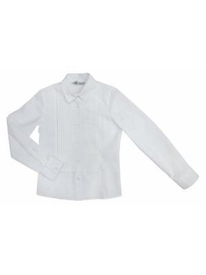 Блузки BORELLI. Цвет: белый