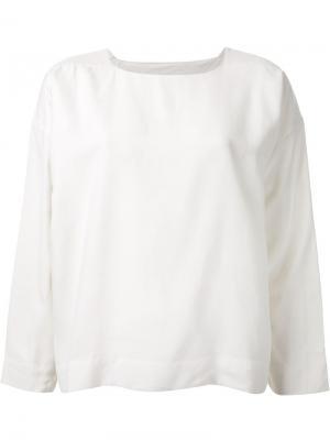 Блузка  Potter Toogood. Цвет: белый
