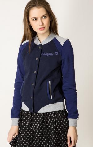 Куртка Campus. Цвет: синий