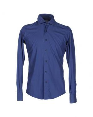 Pубашка TAKESHY KUROSAWA. Цвет: синий