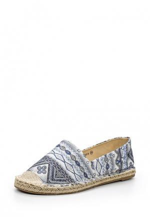 Эспадрильи WS Shoes. Цвет: голубой