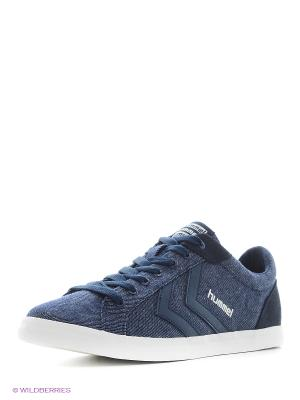 Кеды DEUCE COURT DENIM HUMMEL. Цвет: синий