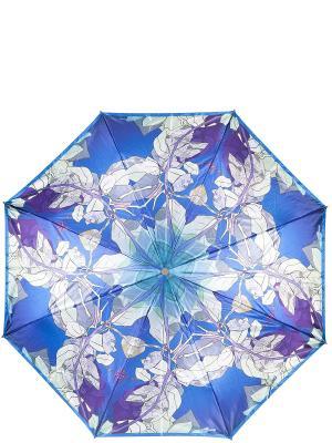 Зонт Eleganzza. Цвет: синий, серый