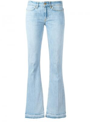 Расклешенные джинсы средней посадки Dondup. Цвет: синий