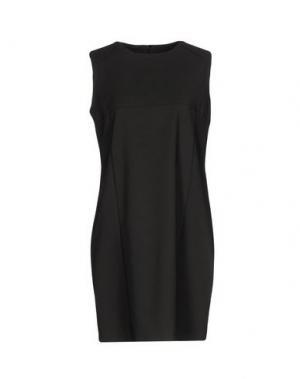 Короткое платье TROU AUX BICHES. Цвет: свинцово-серый