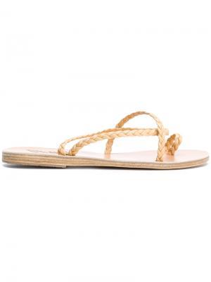 Сандалии Eleftheria Ancient Greek Sandals. Цвет: телесный