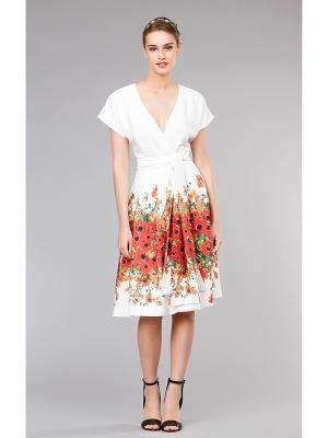 Платье Vittoria Vicci. Цвет: белый, красный