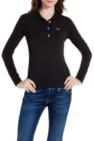 Рубашка-поло Galvanni. Цвет: черный