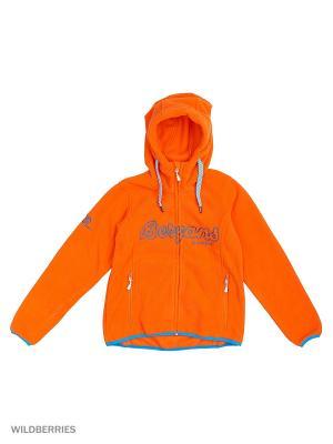 Куртка Bergans. Цвет: голубой, оранжевый