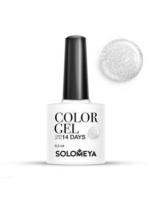 Гель-лак Color Gel Тон Holly SCG104/Холли SOLOMEYA. Цвет: светло-серый