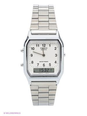 Часы Casio AQ-230A-7B. Цвет: белый