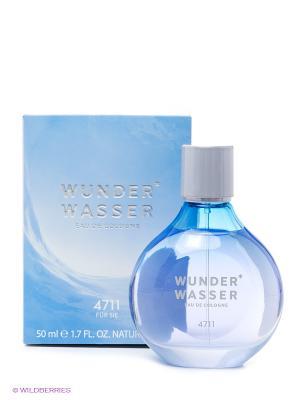Wunderwasser For Her, одеколон, 50 мл 4711. Цвет: голубой