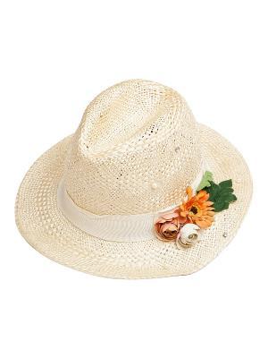 Шляпа Kameo-bis. Цвет: бежевый, оранжевый, зеленый