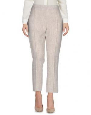 Повседневные брюки CARIN WESTER. Цвет: бежевый
