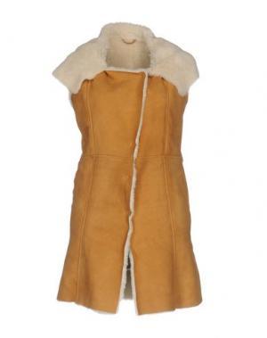 Пальто VINTAGE DE LUXE. Цвет: верблюжий