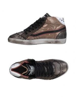 Высокие кеды и кроссовки PRIMABASE. Цвет: серебристый