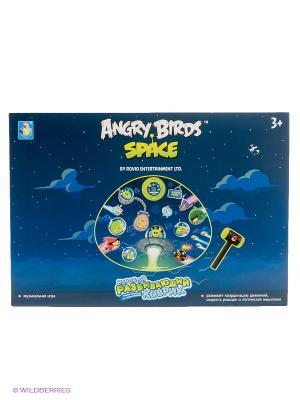 Музыкальный коврик-игра Angry Birds - Спейс. Цвет: синий