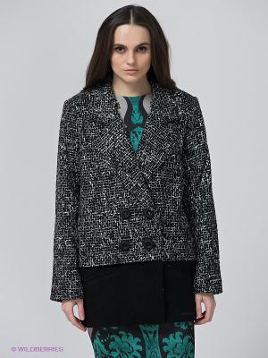 Пальто BSB. Цвет: черный, белый