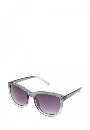 Очки солнцезащитные Pieces. Цвет: серый