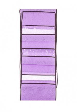 Система хранения подвесная El Casa. Цвет: фиолетовый