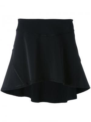 Теннисная юбка Sàpopa. Цвет: чёрный