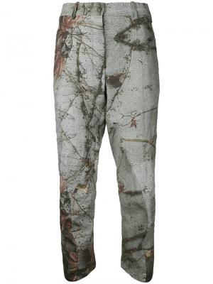 Классические брюки  Forme Dexpression D'expression. Цвет: серый