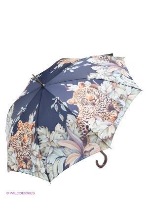 Зонт трость RAINDROPS. Цвет: темно-синий