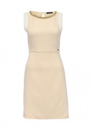 Платье Phard. Цвет: бежевый