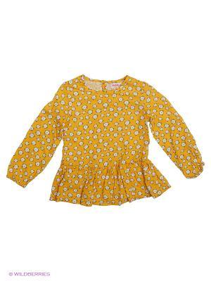 Блузка Modis. Цвет: желтый