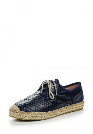 Ботинки Kanna. Цвет: синий