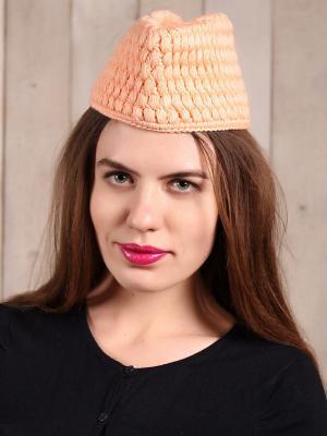 Шляпа EMMY. Цвет: персиковый