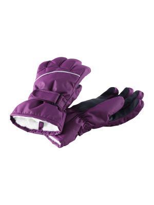 Перчатки Reima. Цвет: малиновый