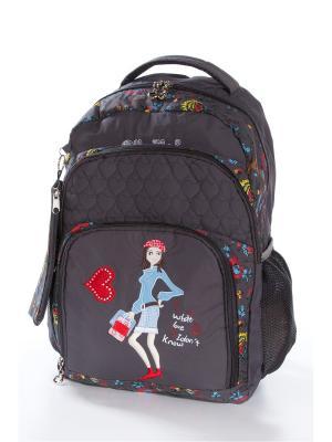 Рюкзак Vittorio Richi. Цвет: темно-серый
