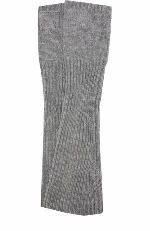 Кашемировые митенки Balmuir. Цвет: серый