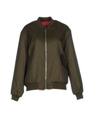 Куртка AMERICAN RETRO. Цвет: зеленый-милитари