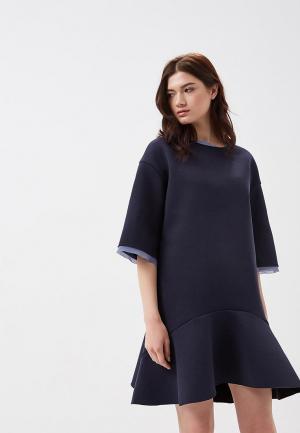 Платье Artwizard. Цвет: синий