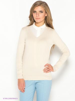 Пуловер Ada Gatti. Цвет: светло-бежевый
