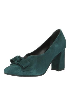 Туфли Sandm. Цвет: зеленый