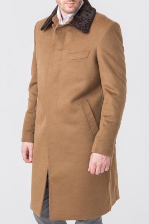 Пальто ALFREDO GALLIANO. Цвет: бежевый