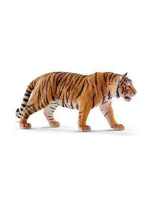 Тигр SCHLEICH. Цвет: белый, черный, рыжий