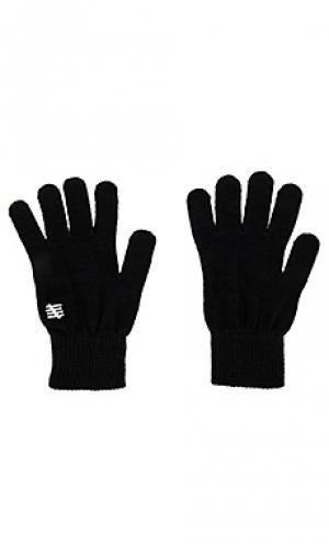 Перчатки 5 strike Undefeated. Цвет: черный