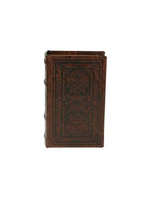 Шкатулка-фолиант Средневековый узор Русские подарки. Цвет: коричневый