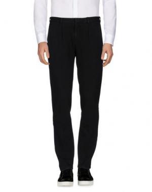 Повседневные брюки CIRCOLO 1901. Цвет: черный