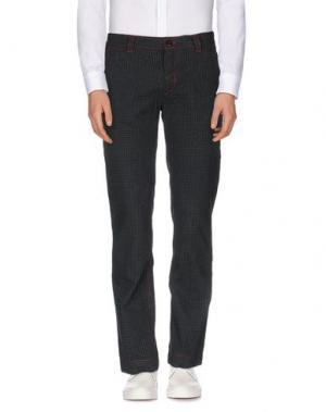 Повседневные брюки JOE RIVETTO. Цвет: темно-зеленый