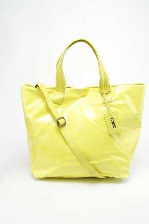 Сумка CNC C'N'C. Цвет: желтый